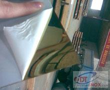 Tấm Inox Vàng Gương 8K-Titan - tam inox vang guong 8k titan -